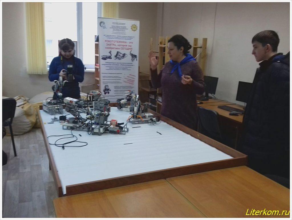 Посещение объединения Робототехники в ЦТТ